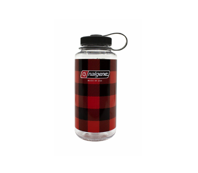 Nalgene Limited Edition Plaid 32 oz Wide Mouth Water Bottle