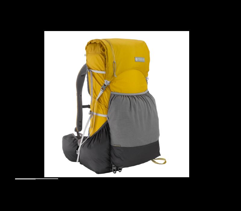 Gossamer Gear Gorilla 50L Ultralight Backpack Yellow