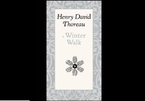 Applewood Books A Winter Walk - Henry David Thoreau