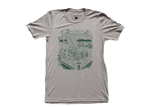 Moore Collection Moore Collection Lake Life Tee