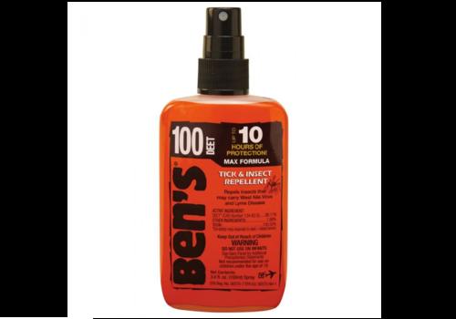 Ben's Max 100% Deet Insect Repellent 3.4 oz. Uncarded