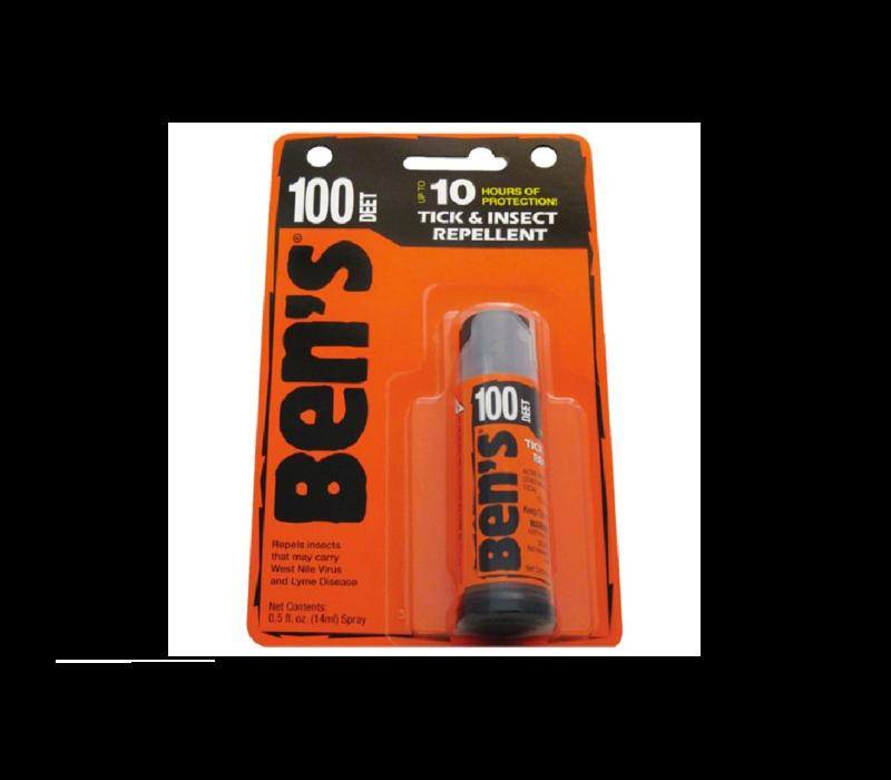Ben's Max 100% Deet Insect Repellent .5 oz. Spray