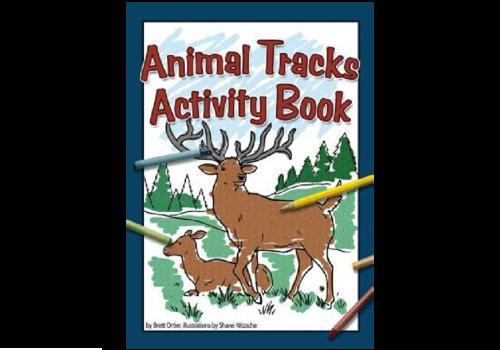 Adventure Publications Animal Tracks Activity Book - Brett Ortler