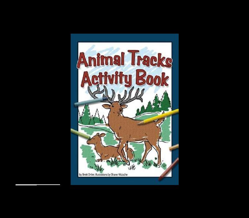 Animal Tracks Activity Book - Brett Ortler