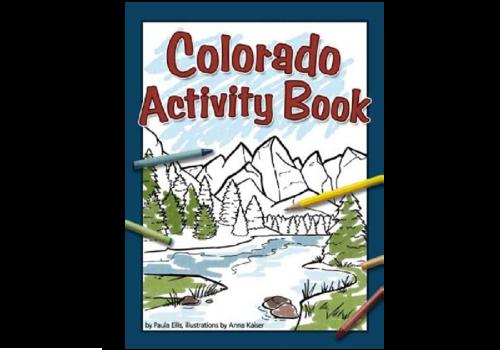 Adventure Publications Colorado Activity Book - Ellis & Kaiser