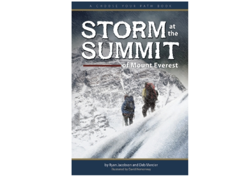Adventure Publications Storm At The Summit Of Mount Everest - Jacobson & Mercier