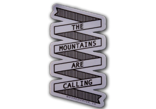 Moore Collection Moore Collection The Mountains Sticker