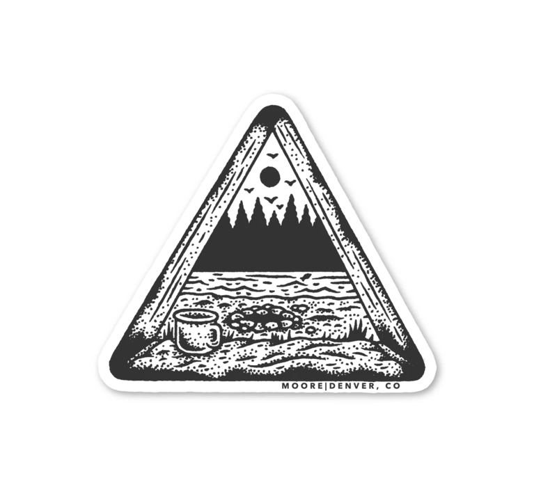 Moore Collection Tent View Sticker