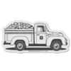Moore Collection Moore Collection Lumber Truck Sticker