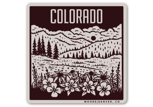 Moore Collection Moore Collection Colorado Mountain Sticker