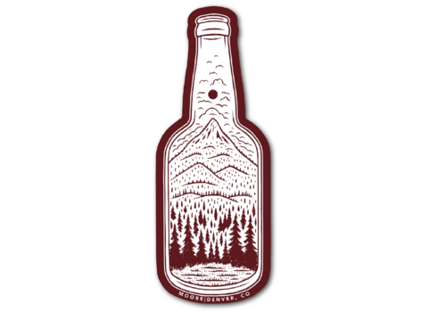 Moore Collection Moore Collection Bottle Sticker