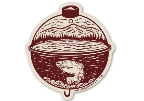 Moore Collection Moore Collection Bobber Sticker