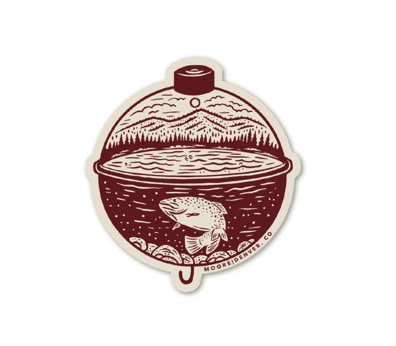 Moore Collection Bobber Sticker