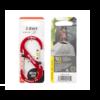 Nite-Ize S-Biner Slidelock Aluminum #4 Carabiner Red