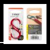Nite-Ize S-Biner Slidelock Aluminum #3 Carabiner Red