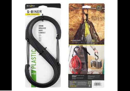 Nite-Ize Plastic S-Biner #10 Carabiner Black