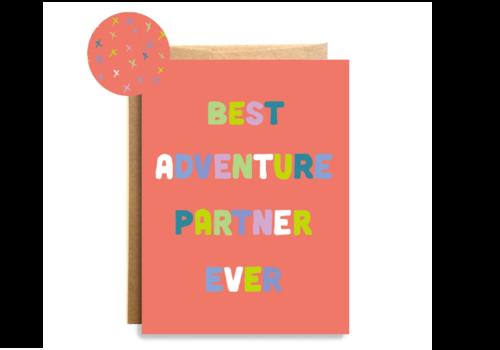 Compass Paper Co. Compass Paper Co. Adventure Partner Card