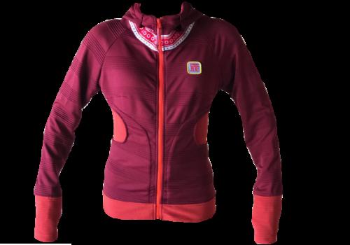 Vander Jacket Women's Style #10 Dark Berry | Burnt Orange Jacket