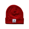 Green Cove Collective Green Cove Collective Watch Beanie Red