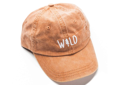 Keep Nature Wild Keep Nature Wild Pine Dad Hat Sunset Orange