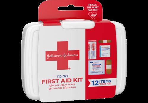 Johnson & Johnson Johnson and Johnson On the Go First Aid Kit
