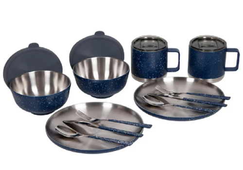 FiftyFifty FiftyFifty 12 Piece Insulated Retro Camp Set