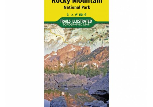 National Geographic National Geographic 200: Rocky Mountain National Park Map