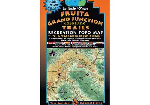 Latitude 40 Fruita | Grand Junction Map