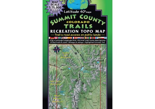 Latitude 40 Summit County Map