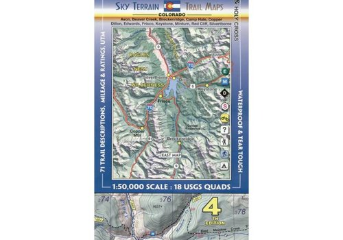 Sky Terrain Sky Terrain Summit | Vail | Holy Cross Map