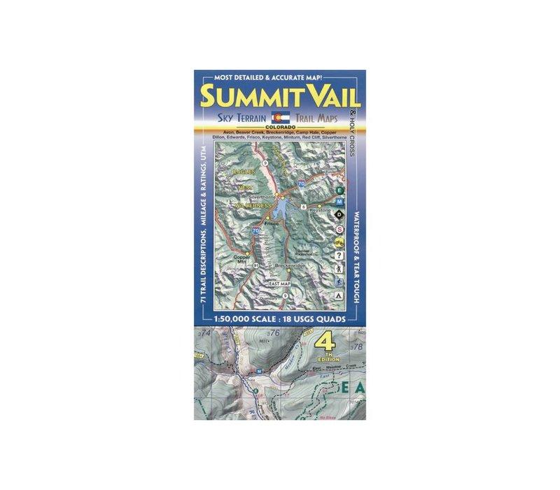 Sky Terrain Summit | Vail | Holy Cross Map