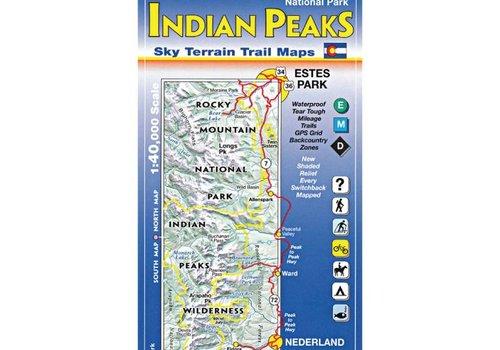 Sky Terrain Sky Terrain Southern Rocky Mountain National Park | Indian Peaks Wilderness Map