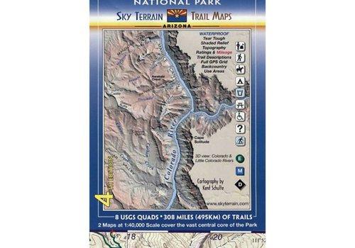 Sky Terrain Sky Terrain Grand Canyon Trail Map