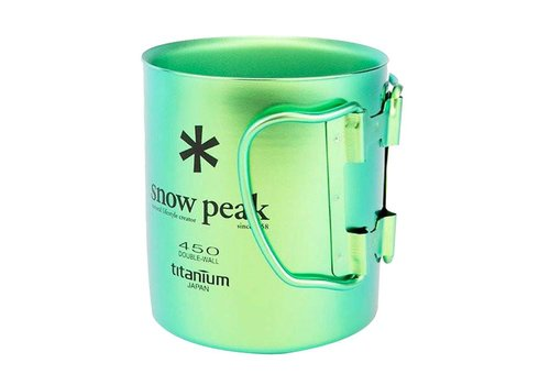 Snow Peak Snow Peak Titanium Double-Wall 450 Colored Cup
