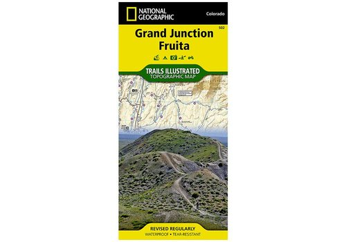 National Geographic National Geographic 502: Grand Junction | Fruita Map