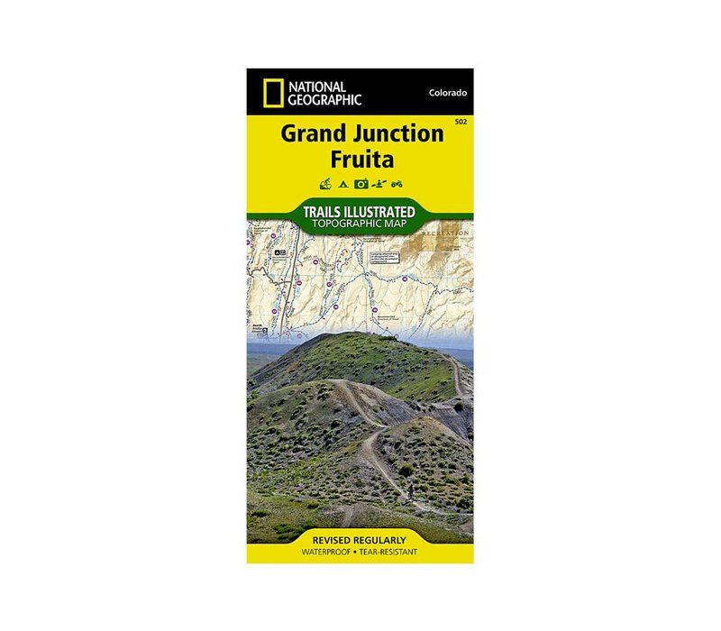 National Geographic 502: Grand Junction | Fruita Map