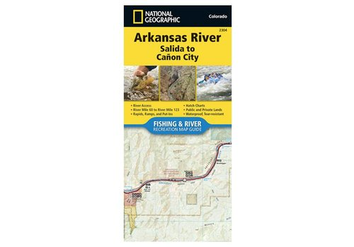 National Geographic National Geographic 2304: Arkansas River Salida to Canon City Map