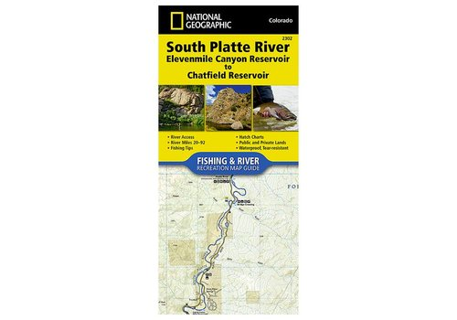National Geographic National Geographic 2302: South Platte River Elevenmile Canyon Reservoir to Chatfield Reservoir Map