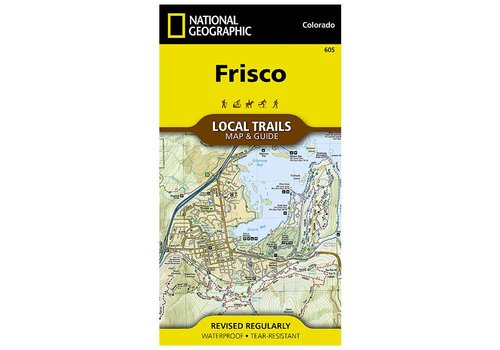 National Geographic National Geographic 605: Frisco Local Trails Map & Guide