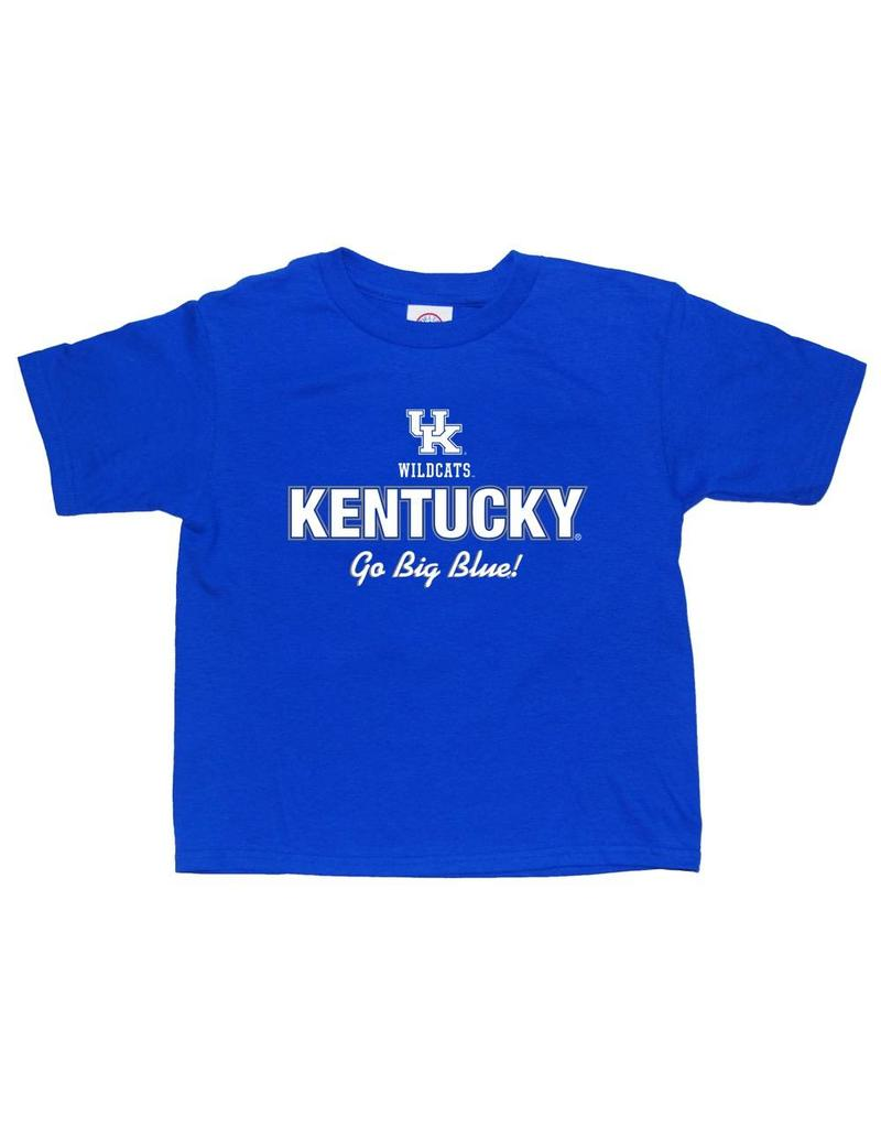Little King TEE, YOUTH, SS, GO BIG BLUE, UK