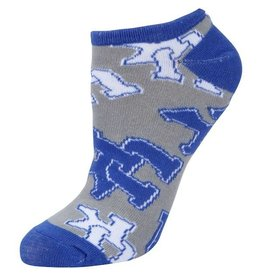 SOCKS, LOGOS, GRAY/ROYAL, UK