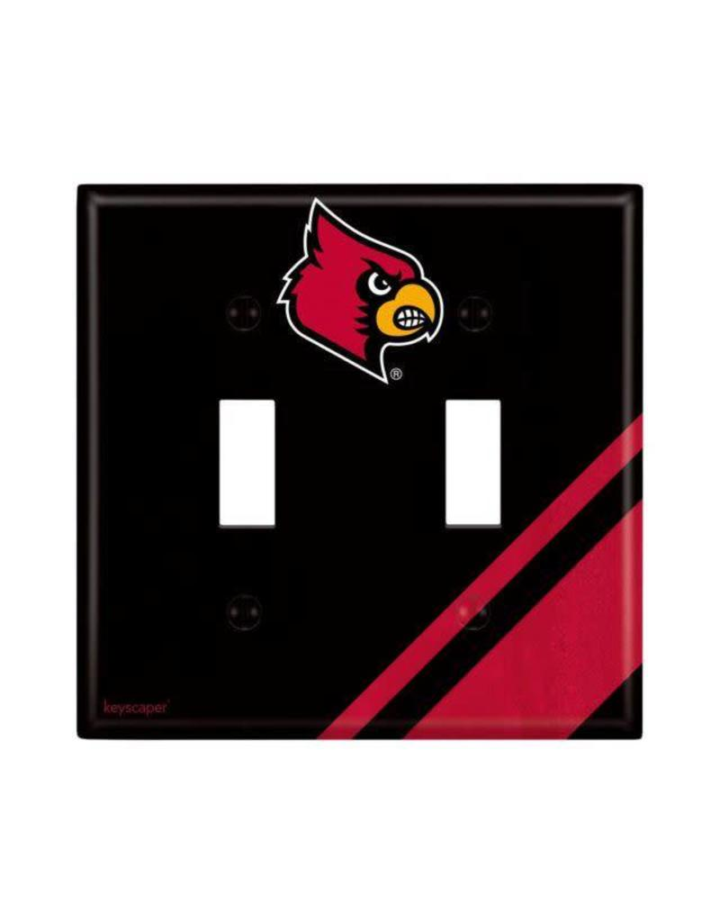 SWITCH PLATE COVER, DOUBLE, UL