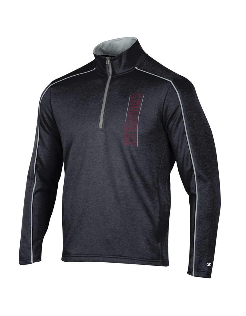 Champion Products PULLOVER, 1/4 ZIP, SPARK, BLACK, UL-C