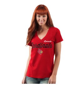TEE, LADIES, SS, POST SEASON, RED, UL