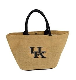 Logo Chair TOTE BAG, JUTE, BROWN, UK