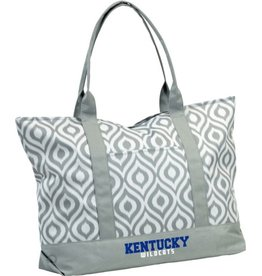 Logo Chair TOTE BAG, IKAT, GRAY, UK