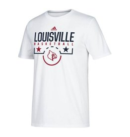 Adidas Sports Licensed TEE, SS, ADIDAS, SALUTE TO, WHITE, UL