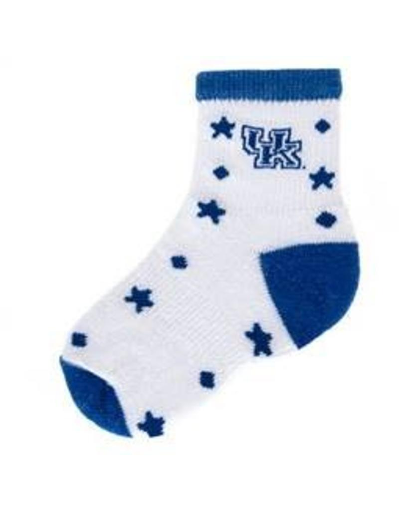 SOCKS, INFANT, 12-24 MTH, WHITE, UK