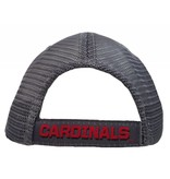 Top of the World HAT, ADJUSTABLE, TURN2, GRAY/RED, UL