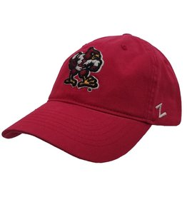HAT, ADJUSTABLE, VAULT LOGO, RED, UL
